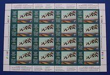 Canada (CN12) 1996 Wildlife Habitat Conservation Stamp Sheet (MNH)