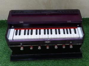 Harmonium 7 Stopper Doppel Faltenbalg 39 Schlüssel ~440Hz~ Lang Sustain ~ Yoga ~