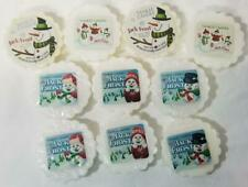 Yankee Candle Tarts: JACK FROST Wax Melts Lot of 10 White New Icy Peppermint
