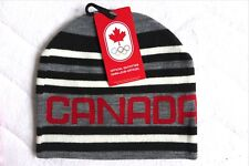 New ! 2018 Adult CANADA WINTER OLYMPICS OFFICIAL BEANIE HAT Toque New Tags