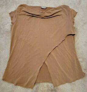 Rave Cute Brown Belly Top Large