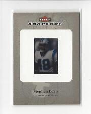 2003 Fleer Snapshot Slides #18 Stephen Davis Panthers 048/100 Jer #!!