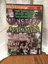 Monsters and Madmen DVD Dbl Feature: Beast Yucca Flats & Brain That Wouldn't Die