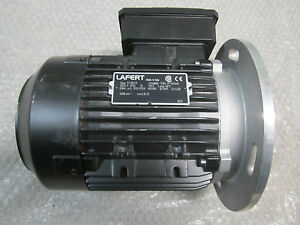 Lafert ST80C4 AC Motor 0.55kw/0.75HP 2.1/1.2A 1680RPM 333/575V *Fully Tested*