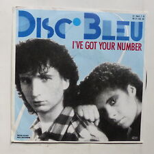DISC BLEU I've got your number 25 9664 7 N