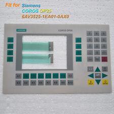 Membrane Keypad for SIEMENS 6AV3525-1EA01-0AX0 COROS OP25, 6AV3 525-1EA01-0AX0