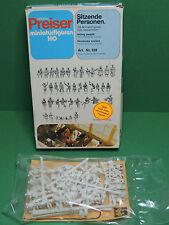 Preiser original #328 miniaturfigurine boite de figurine 20mm passagers assis HO