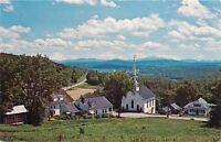 White Village Lower Waterford White Mountains Vermont Postcard