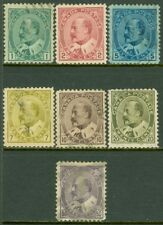 EDW1949SELL : CANADA 1903-08 Scott #89-95 Complete. Used. Nice set. Catalog $252