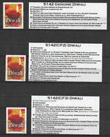 Scott #5142 COUNTERFEIT STUDY GROUP--2 DIFFERENT MNH SINGLES INCLUDING GENUINE