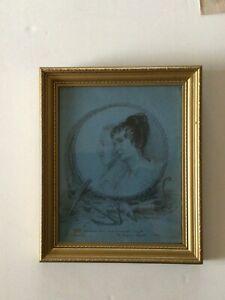 Rare and Original James Green Portrait of William  and Annabella Smyth in 1832