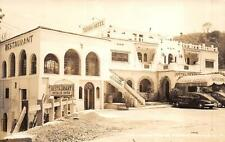 RPPC TEXAS HOTEL TAMAZUNCHALE SLP MEXICO RESTAURANT REAL PHOTO POSTCARD c. 1930