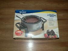 Rival Electric Fondue Pot FD300D New In Open Box