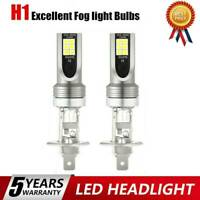 2x H1 LED Headlight Conversion 300W 30000LM Hi&Lo Beams Bulbs Fog Lights 6000K