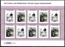 Nederland 2489-A-63/64 vel Canon 63 en 64 Verzet tegen kinderarbeid
