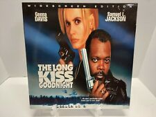 The Long Kiss Goodnight Laserdisc LD Nice Shape NOT DVD