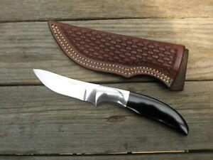 RUSS KOMMER Alaska Custom Knife Maker Semi-skinner Hunting Knife