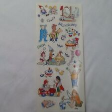 Kids Playtime Toys Fun SCRAPBOOKING Stickers By Autumn Leaves  A78