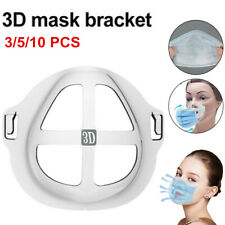 3/5/10PCS 3D Face Mask Bracket Mouth Separate Inner Stand Holder Breathing Space