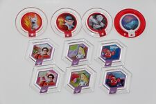 DISNEY INFINITY 1.0 LOT BUNDLE OF 10 POWER DISCS SET SERIES 1 2 3 ONLY .70/DISC!