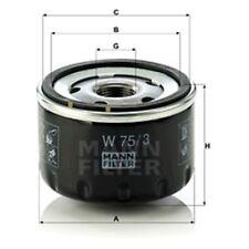 Mann Oil Filter Spin On For Dacia Duster 1.6 16V LPG 1.6 16V 1.6 16V 4x4
