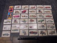 Panini Lot de 35 Images pour Album L'Histoire De L'Automobile