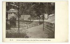 Animal Bird Cages John Ball Park Grand Rapids  Michigan MI  Postcard