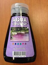 "COLORANT PISCINE OU SPA VIOLET ""LAVANDE"" AQUACOULEUR - FLACON 180 ML"