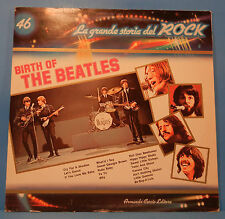 BIRTH OF THE BEATLES LP 1982 ITALY ORIGINAL HAMBURG '61-'62 GREAT COND! NM/VG+!!