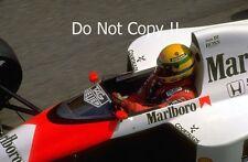 Ayrton Senna McLaren MP4/5 Winner Monaco Grand Prix 1989 Photograph 3