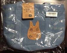 My Neighbour Totoro  Cork Pocket & Denim Lunch Bag, Brand New with tag