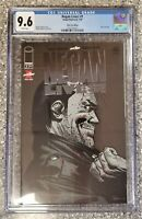 Negan Lives! #1 The Walking Dead kirkman Silver Foil Variant CGC 9.6 Beautiful!