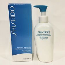Shiseido Ultimate Cleansing Oil For Face/Body 150ml. / 5oz. New in Box!