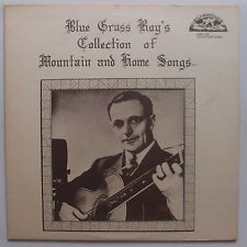 BLUE GRASS ROY: Collection Mountain / Home Songs LP Old Homestead BLUEGRASS
