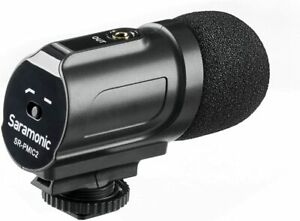 Saramonic SR-PMIC2 Camera Mounted Stereo Cardioid Condenser Microphone