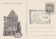 Poland postmark LIDZBARK WARMINSKI - days 1969 COPERNICUS