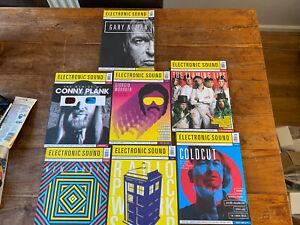 electronic sound magazine Lot