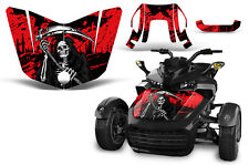 Can Am F3-S Spyder Roadster Hood Graphic Kit Decal Sticker Wrap 2015-2016 REAP R