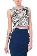 Zara Waist Length V Neck Casual Tops & Shirts for Women