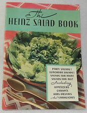 Heinz 57 Book of Salads Dressing Sauce Fruit Meat Fish Party Recipe Cook Booklet