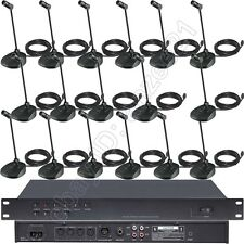 Classical 35 Table Digital Conference Meeting Wired Microphone System U350-35T