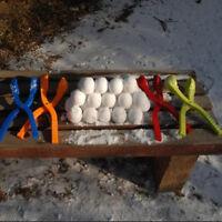 Sand Mold Tool Winter Snow Ball Maker Kids Toys Sports Snow Scoop Maker Clip
