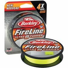 Berkley Fireline Ultra 8 Carrier Braid Fishing Line Flame Green 300m