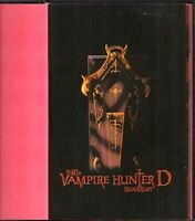 BOOK ART OF VAMPIRE HUNTER D BLOODLUST RARE HB ORIG VINTAGE 56 COLOR PAGES ANIME