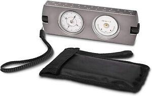 Handheld Clinometer Compass w Case Combo - Satellite Inclinometer Surveying Tool