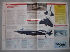 Aircraft of the World Card 22 , Group 9 - Rockwell XFV-12