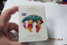 "Hallmark Keepsake Ornament  2010  Ornament Club  ""A Tree for 3""  Winnie the Pooh"