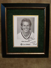 NHL MIKE MODANO AUTOGRAPHED PHOTO FRAMED & MATTED