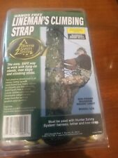Hunter Safety System Lineman's climbing Strap