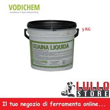 Guaina Liquida Impermeabilizzante Membrana Nero 5 Kg